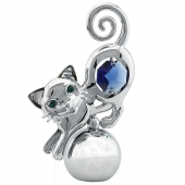 SPECIAL - Crystocraft Cat - Silver